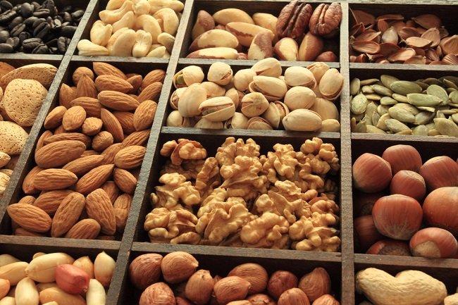 Срок хранения орехов без скорлупы