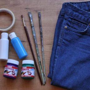 Как покрасить джинсы: как и чем в домашних условиях покрасить джинсы быстро и просто (55 фото)