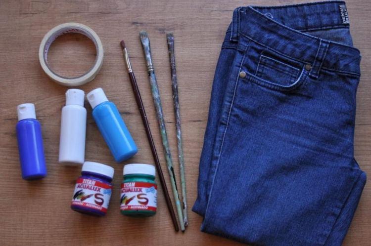 Хорошая краска для джинс