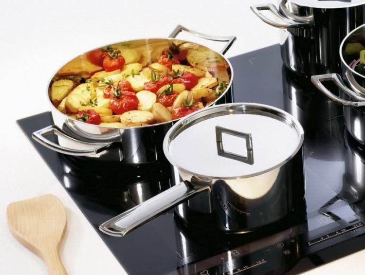 Индукционная варочная панель какую посуду можно использовать